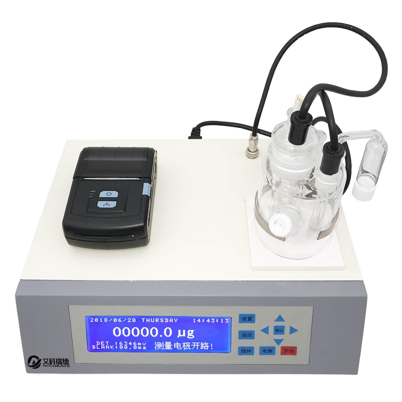 卡爾費休庫侖法微量水分